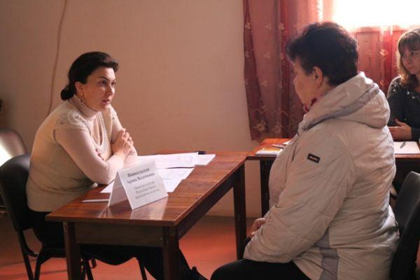 В Красногвардейском районе проходит выездной прием граждан представителями Совета Министров РК