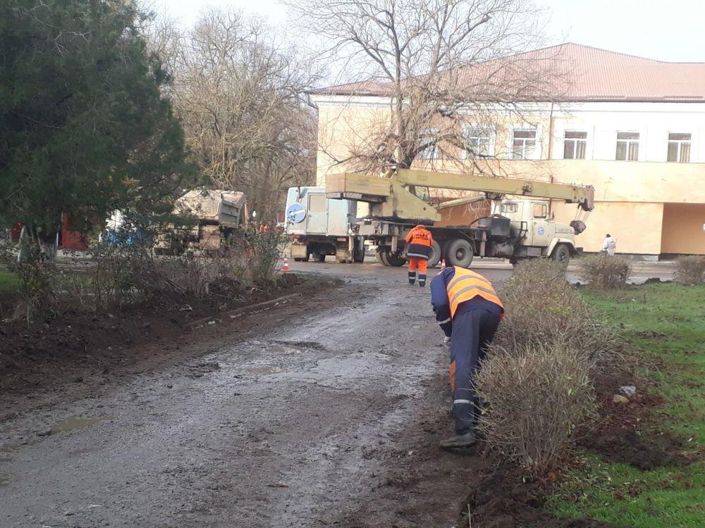 В с.Восход отремонтирован участок дороги