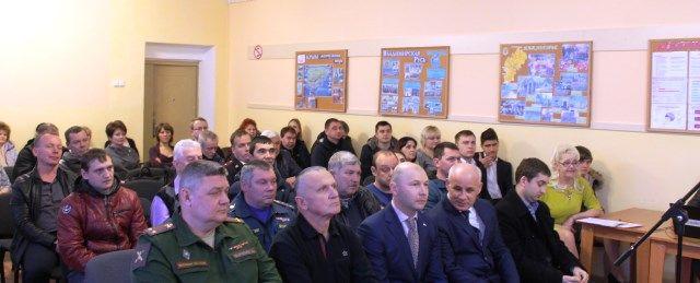 В Нижнегорском районе прошел праздничный концерт, посвященный Дню защитника Отечества