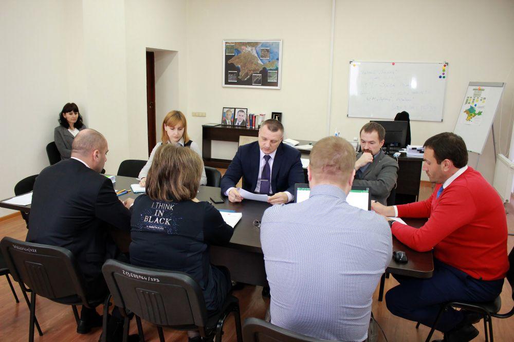 В Госкомрегистре обсудили вопросы корректировки результатов кадастровой оценки земельных участков в границах городского округа Судак