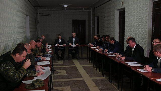 Заседание оперативного штаба в Керчи. 17 октября 2018
