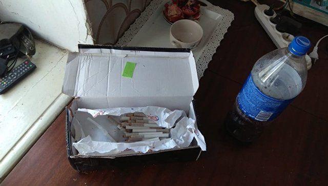 Наркотическое вещество, обнаруженное при обыске в домовладении в Феодосии