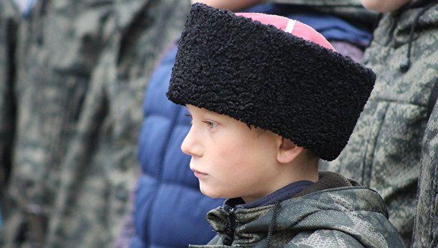 Крымский фестиваль-конкурс казачьей культуры Возрождение в Феодосии