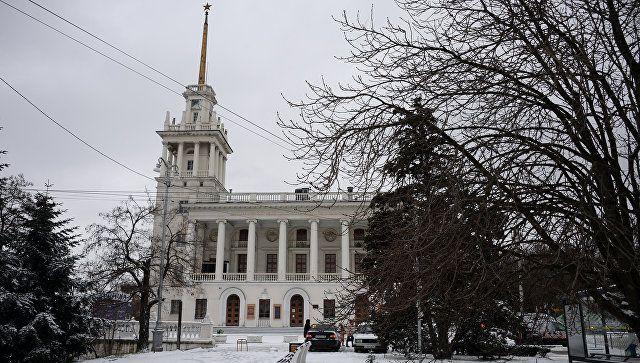 Снег в Севастополе. 23 февраля 2019