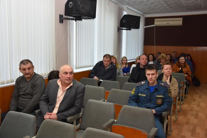 В Администрации города Красноперекопска состоялось расширенное аппаратное совещание