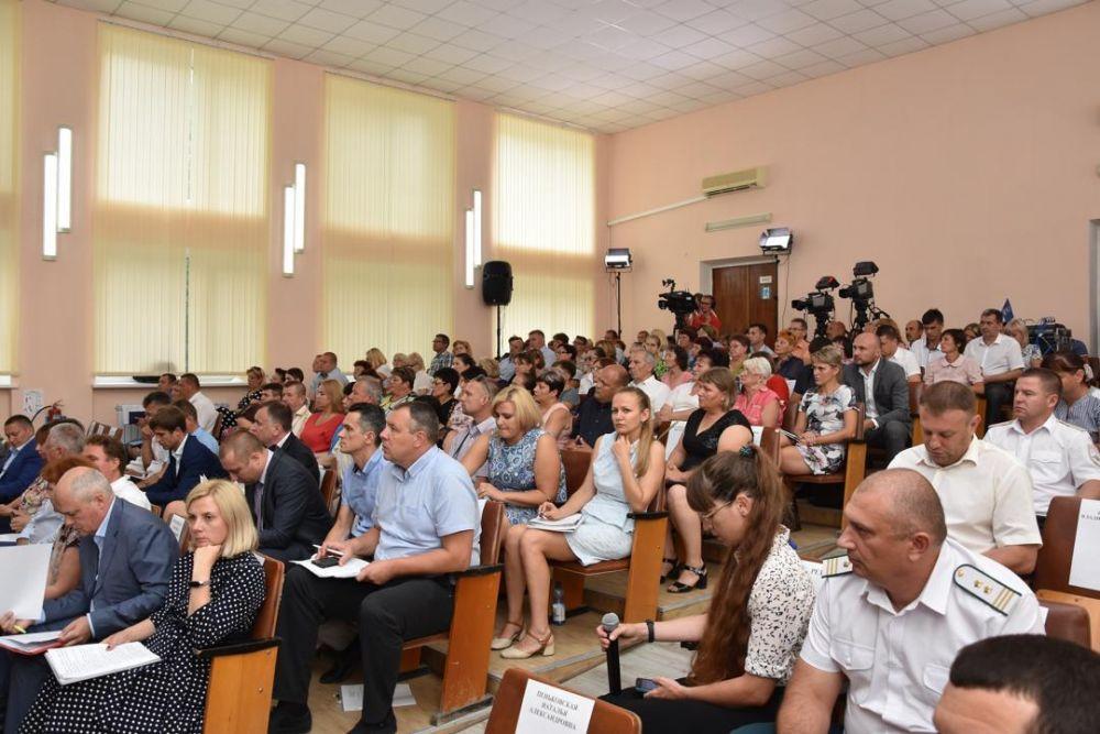 Выездное совещание Совета министров Республики Крым