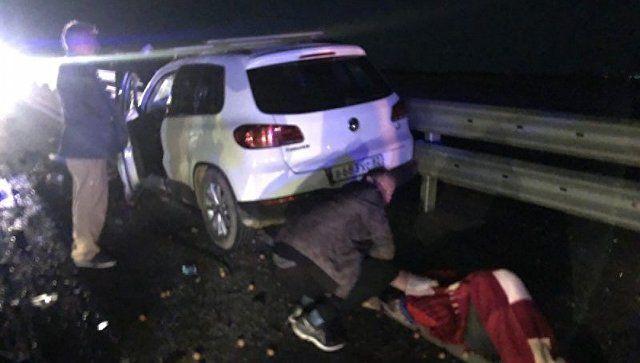 Смертельное ДТП: на Тавриде столкнулись три автомобиля