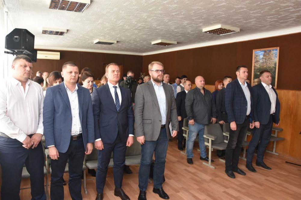 В Красноперекопске назначили главу администрации города и внесли изменения в генеральный план