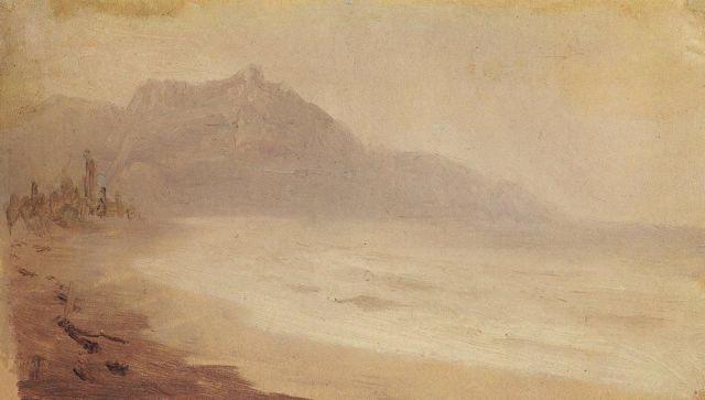 Архип Куинджи Вид на гору Демерджи
