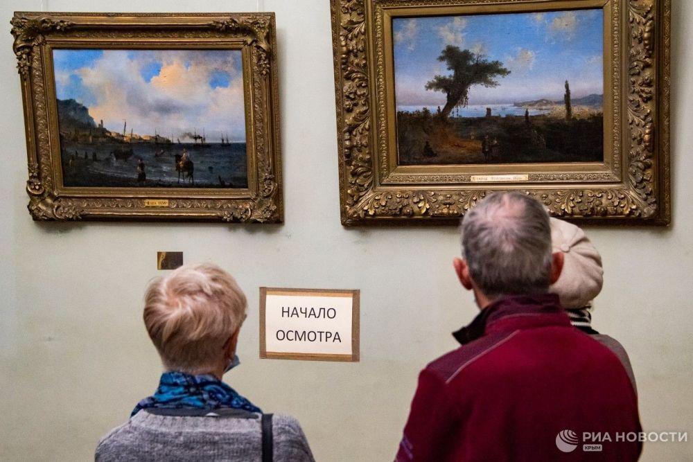 По стопам великого мариниста: Кот Мостик в галереи Айвазовского