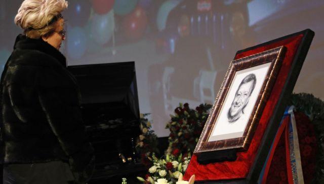 Прощание с Б. Грачевским