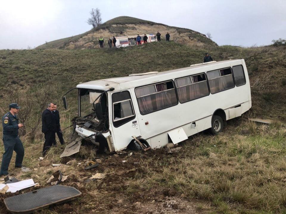 Самые жуткие ДТП с автобусами в Крыму: справка