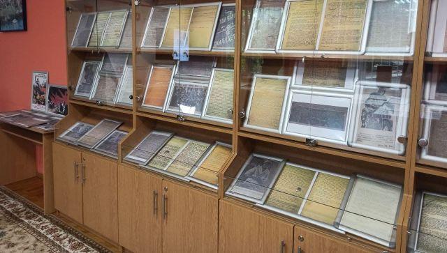 Архив Симферополя показал исторические документы к 80-летию начала ВОВ