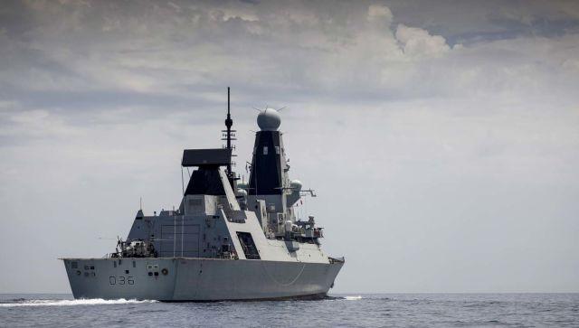 The Royal Navy Type 45 Destroyer, HMS Defender/Эсминец Королевского флота Тип 45, HMS Defender